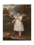 Portrait of Emma Laura Whitbread, C.1800 Giclee Print by John Hoppner