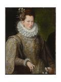 Portrait of a Lady, 1590s Giclée-tryk af Lavinia Fontana