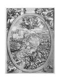 The Battle of Muehlberg, 24 April 1547, 1551 Giclée-Druck von Enea Vico