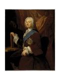 Portrait of Richard Boyle, 3rd Earl of Burlington, 1743 Giclee Print by George Knapton
