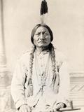 Sitting Bull Fotografisk tryk