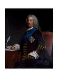 Portrait of William Cavendish, 3rd Duke of Devonshire, Late 1730s-Early 1740s Giclee Print by George Knapton