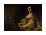 Portrait of Lady Charlotte Boyle, C.1748 Giclee Print by George Knapton