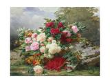 Autumn Flowers Giclée-vedos tekijänä Jean Baptiste Claude Robie