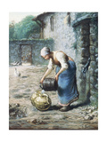 The Woman at the Well, C.1866 Giclee Print by Jean-François Millet