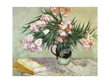 Oleanders and Books, 1888 Giclee Print by Vincent van Gogh