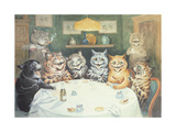 The after Dinner Speaker Reproduction procédé giclée par Louis Wain
