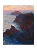 Rocks at Bell-Ile, Port-Domois, 1886 Giclée-vedos tekijänä Claude Monet