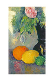 Flowers and Fruits, C.1880 Reproduction procédé giclée par Paul Cézanne