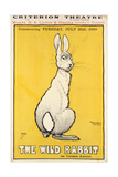 The Wild Rabbit Poster, 1899 Stampa giclée di J. Hissin