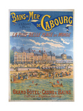 Cabourg Poster Giclee Print by Emile Levy