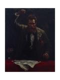 The Socialist, 1885 Giclée-tryk af Robert Koehler
