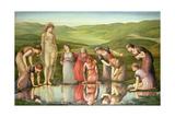 The Mirror of Venus Reproduction procédé giclée par Edward Burne-Jones