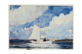 Fishing Schooner, Nassau, C.1898-99 Giclee Print by Winslow Homer