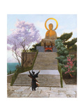 Japanese Imploring a Divinity Giclee Print by Jean Leon Gerome