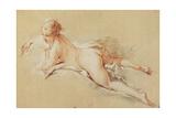 Recumbent Nude Reproduction procédé giclée par Francois Boucher