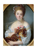 Madame De Porcin, 1774 Giclee Print by Jean Baptiste Greuze