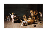 Whoever You Are, Here Is Your Master (Love, the Conqueror) Giclée-tryk af Jean Leon Gerome