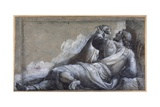 A Reclining Apostle Giclée-tryk af Sebastiano del Piombo