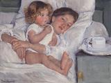 Breakfast in Bed, 1897 Giclee Print by Mary Cassatt