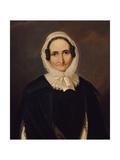Portrait of Albertine Von Motz, after 1827 Giclee Print by Franz Kruger