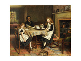 There Is No Fireside..., 1874 Giclee Print by George Goodwin Kilburne