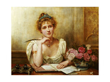 The Letter Giclee Print by George Goodwin Kilburne