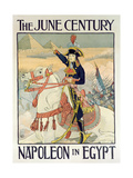 Poster for the Century Magazine - 'Napoleon in Egypt', 1895 Giclee Print by Eugene Grasset
