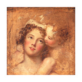 Woman and Child Giclée-tryk af Thomas Lawrence