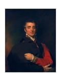 Arthur Wellesley, Duke of Wellington Giclée-tryk af Thomas Lawrence