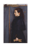 Portrait of Jeanne De Bauer, 1890 Giclee Print by Fernand Khnopff