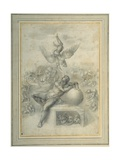 A Dream of Human Life', after Michelangelo Buonarroti Giclee Print by  Michelangelo Buonarroti