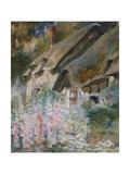 Anne Hathaway's Cottage Gicléetryck av David Woodlock
