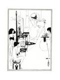 The Toilette of Salome, 1899 Giclée-vedos tekijänä Aubrey Beardsley