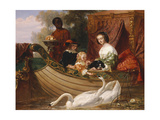 The Children of King Charles I Giclee Print by Frederick Goodall