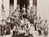 Thai Classical Dancers, C.1900 Photographic Print by Robert Lenz