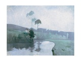 Springtime, C.1884 Gicléedruk van John Henry Twachtman