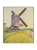 Kalf Mill, 1894 Gicléetryck av Theo van Rysselberghe