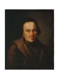 Portrait of Moses Mendelssohn, after 1771 Giclée-tryk af Anton Graff