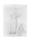 Figure Study for 'Joan of Arc' Giclee Print by Jules Bastien-Lepage