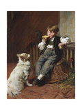 Lunch Time Giclee Print by Felix Schlesinger