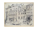 The Grand Canal, Venice, C.1826 Giclee Print by Richard Parkes Bonington