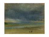 Beside the Sea, 1869 Lámina giclée por Edgar Degas