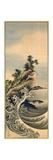 Breaking Waves, Edo Period, 1847 Giclee-trykk av Katsushika Hokusai