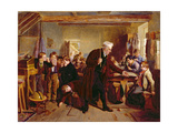 The Village School, 1857 Giclee Print by William Henry Knight