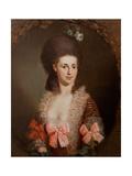 Portræt af en kvinde Giclée-tryk af Anton Graff