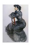 Colette, C.1906-7 Gicléetryck av Maxime Dethomas
