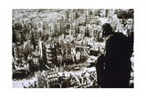 World War II. Dresden Destroyed by Bombing Giclee-trykk
