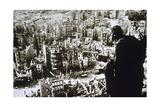 World War II. Dresden Destroyed by Bombing Giclee Print
