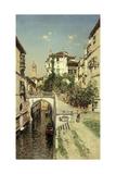 A Venetian Canal Scene Giclee Print by Martin Rico y Ortega